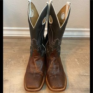 Anderson Bean Horsepower Distressed Leather Boots